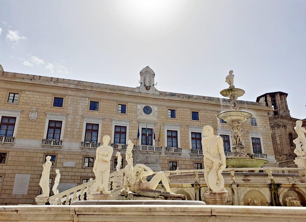 palazzo delle aquile comune pretoria